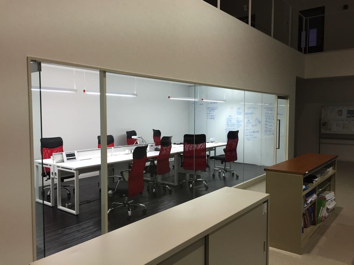 終わった後の会議室